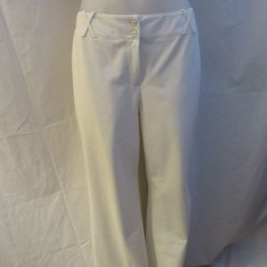 ST. JOHN COLLECTION NATURAL WHITE PANT SIZE 10